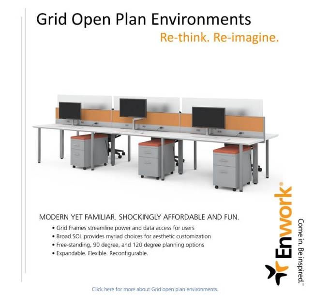 Enwork Grid...flexible, attractive and priced to dominate the competition!