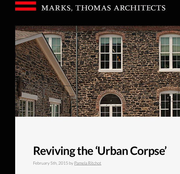 A great article on Urban Renewal in Baltimore...read up folks!