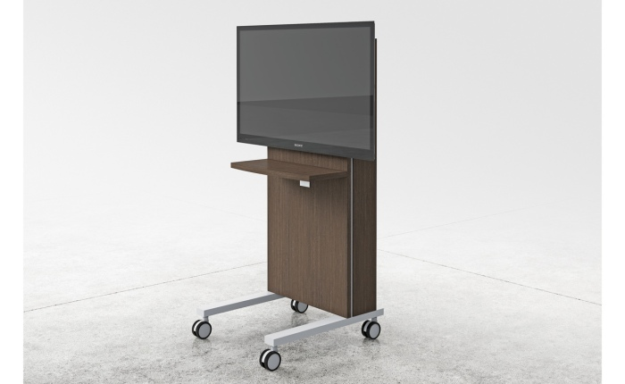 Three H mobile TV cart is just what you need to spice up your space and watch things at the same time!
